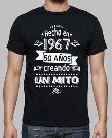 42b84041d 50 años creando un mito | Camisetas cumpleaños | Regalo para papa  cumpleaños, Fraces para cumpleaños, Camisas de cumpleaños