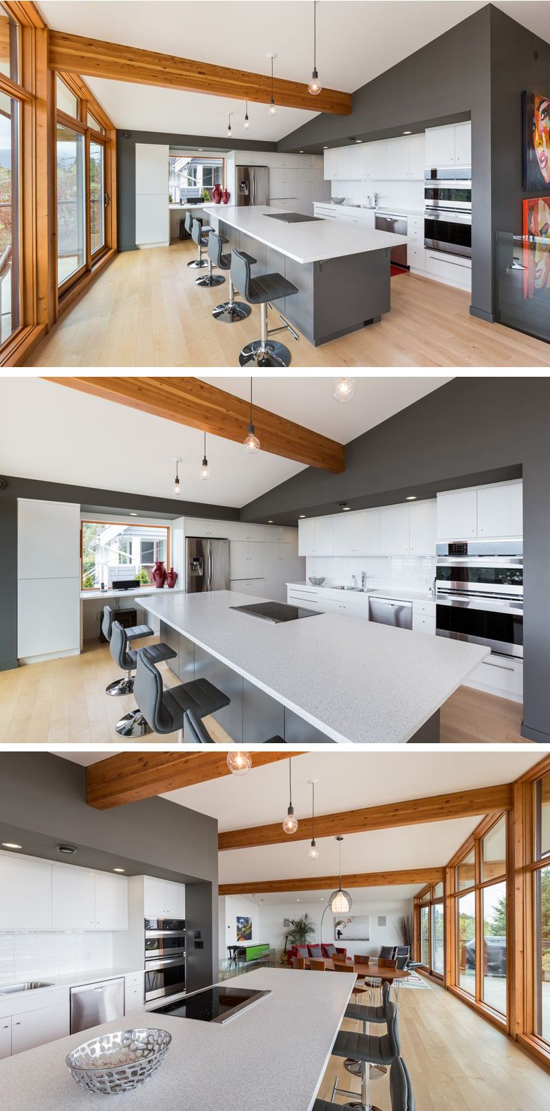 A Mid-Century Modern Home In Vancouver Gets An Update | Kitchens ...