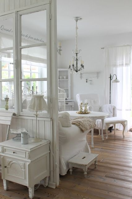 I Love The Windows As A Room Divider My Style Shabby