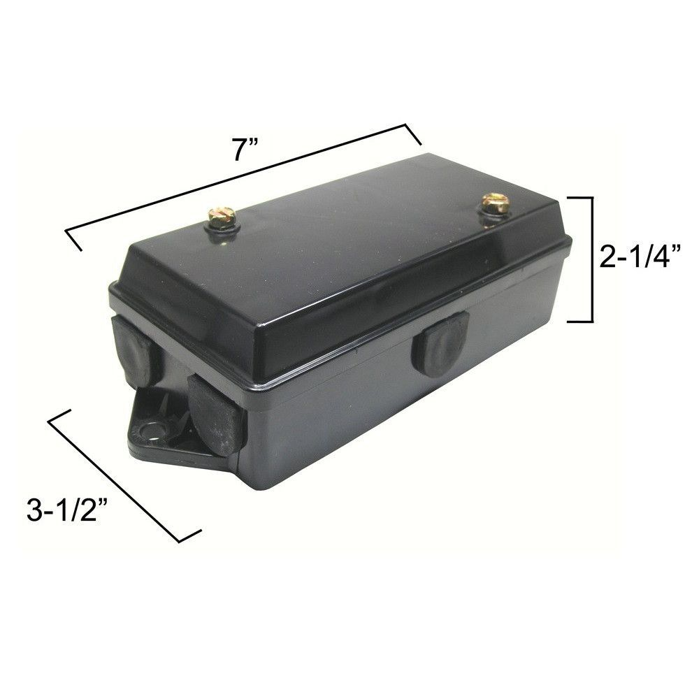 hight resolution of part otp 5601100 description 1 one trailer wiring junction box for 7 way or 6 way trailer connectors this junction box provides a fast