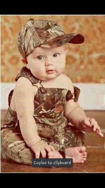 Camo baby boy