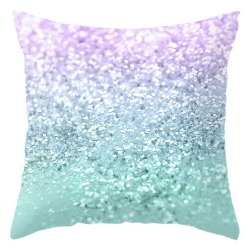 #Rainbow #Colorful #Velet #Pillow #Cushion #Cover #Geometrics #Pillow Cases Sofa Decor
