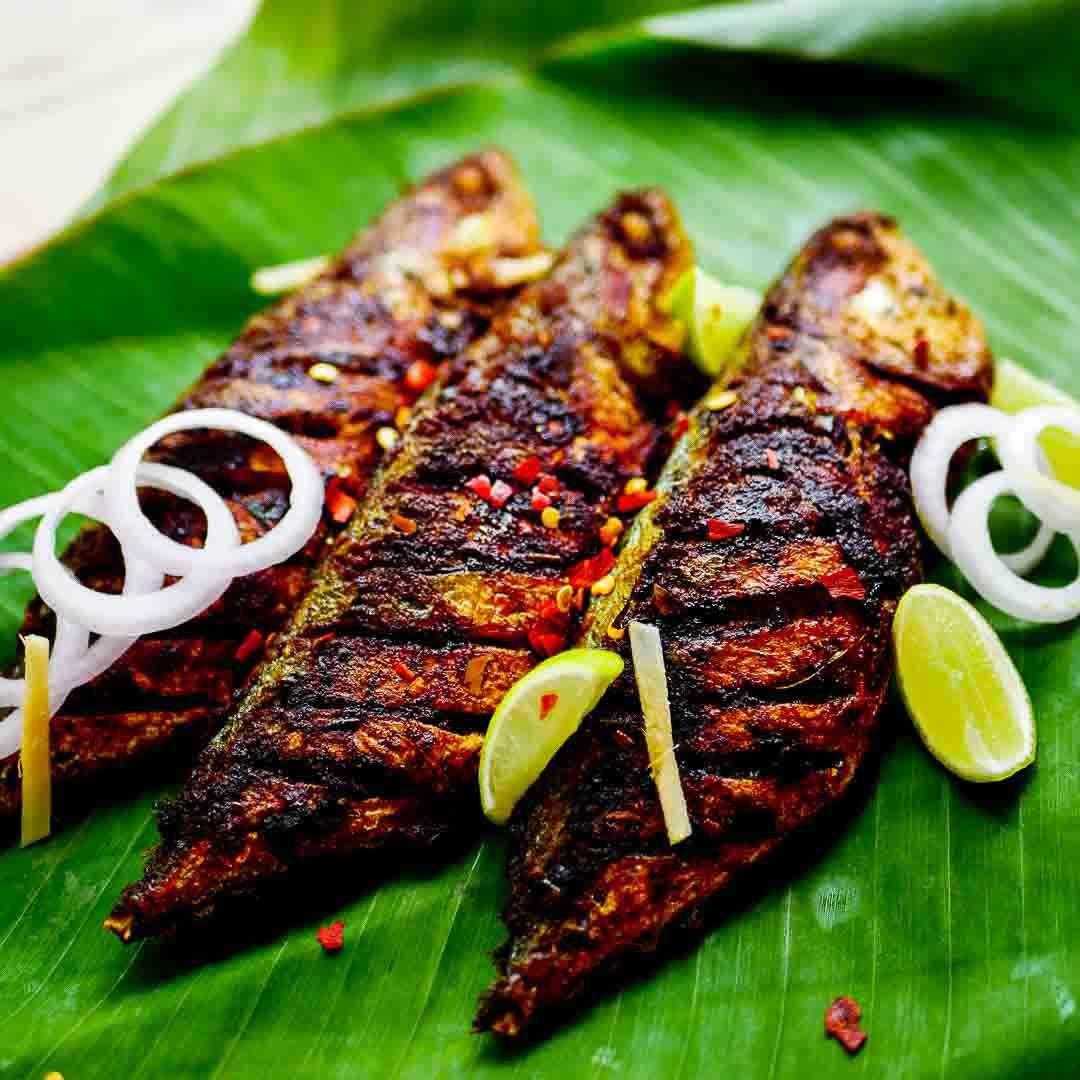 Masala Fish Fry In Oil Marinade Recipe Fried Fish Mackerel Fish Cooking