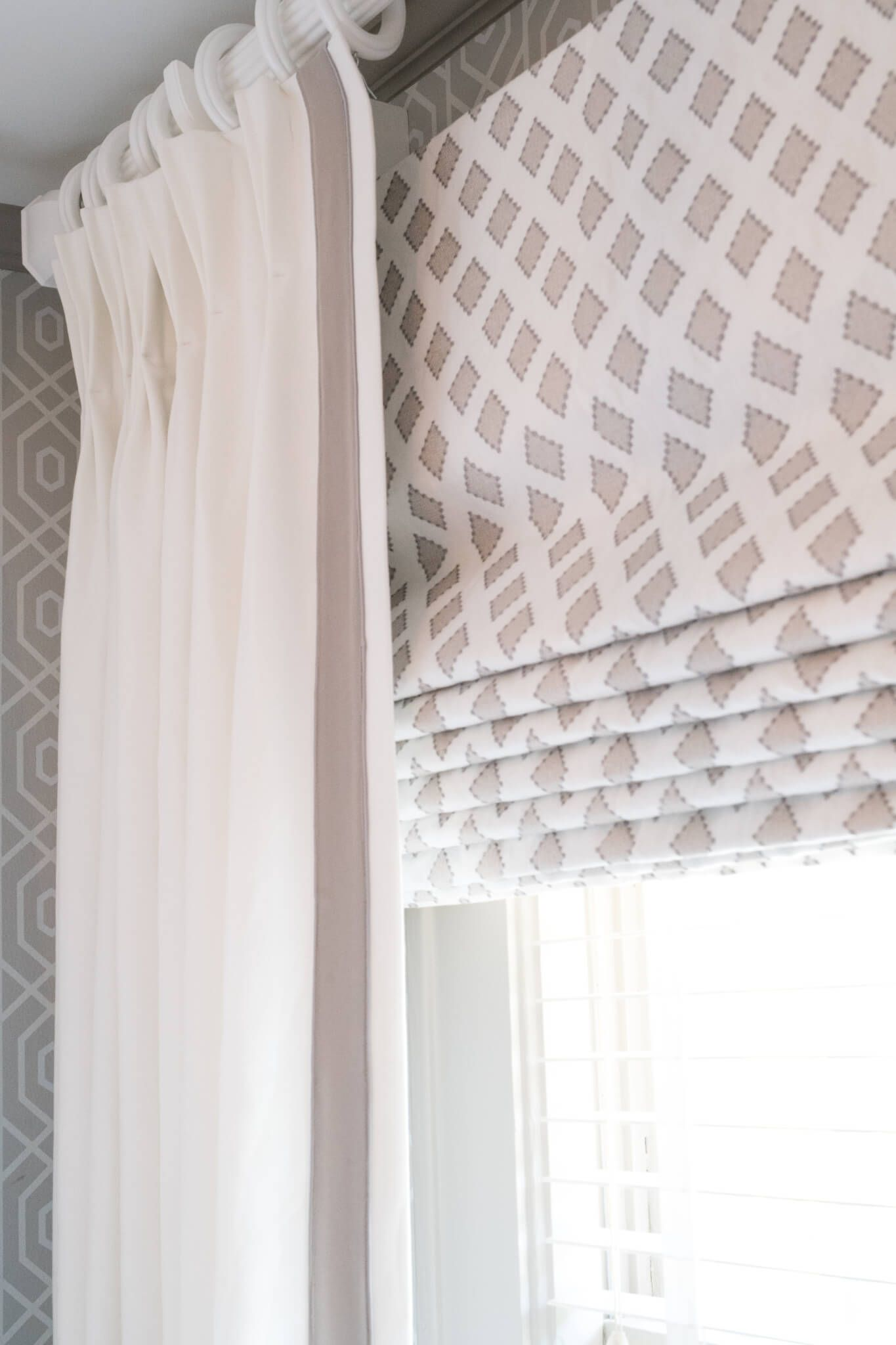 Sweet Dreams Roman Shade Draperies Window Treatments Textiles