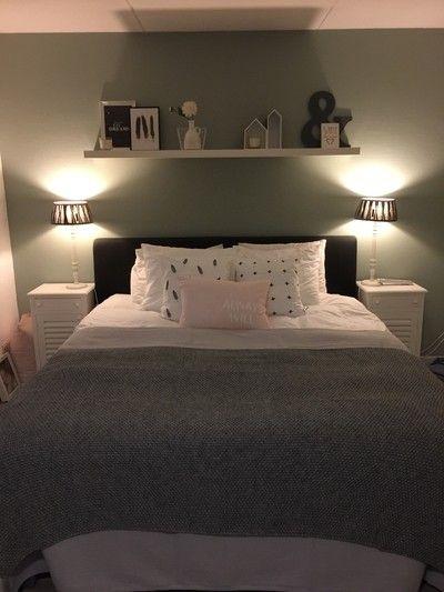 Slaapkamer - Binnenkijken bij silvia | groen | Pinterest ...