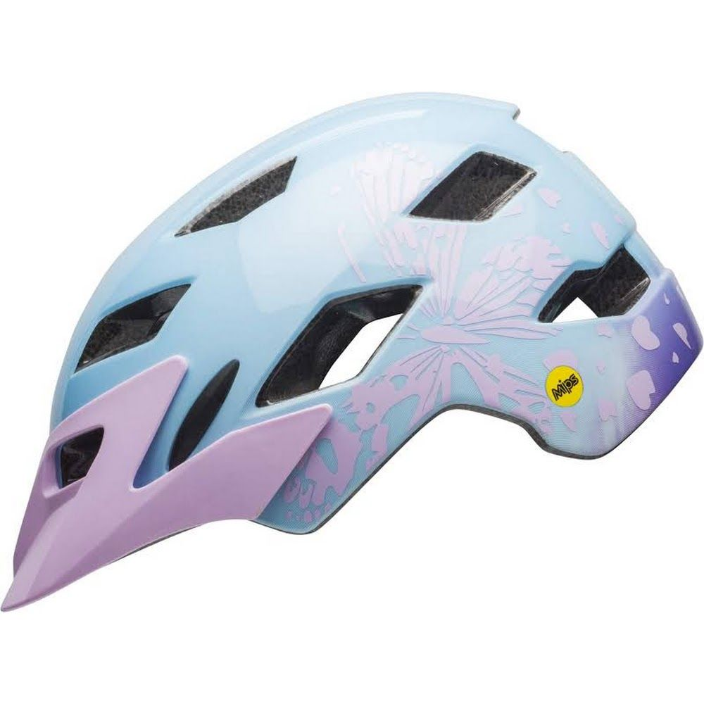 Pink//Light Blue Bell Sports Disney Princess Glitter Toddler Bike Helmet