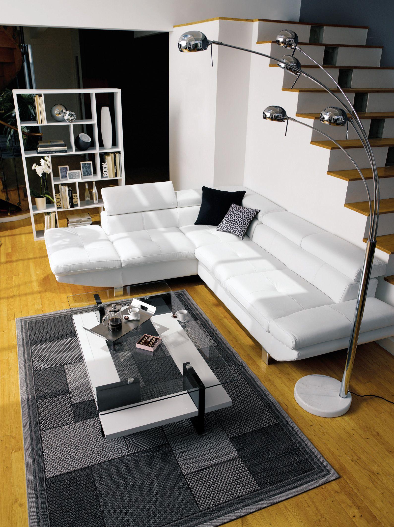 Conforama ambiance loft color home deco canap sofa ideas decoraci n - Canape loft conforama ...