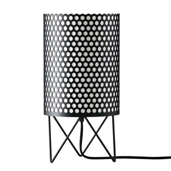 Pedrera ABC table lamp, black