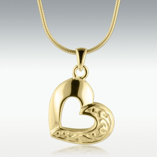 14++ 14k solid gold cremation jewelry viral