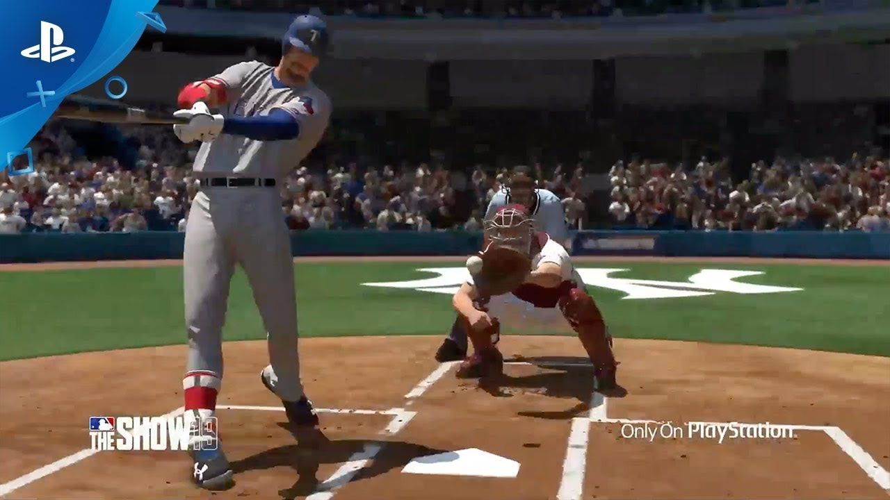 Mlb The Show 19 Hitting With San Diego Studio Ps4 With Images Mlb The Show Ps4 Mlb