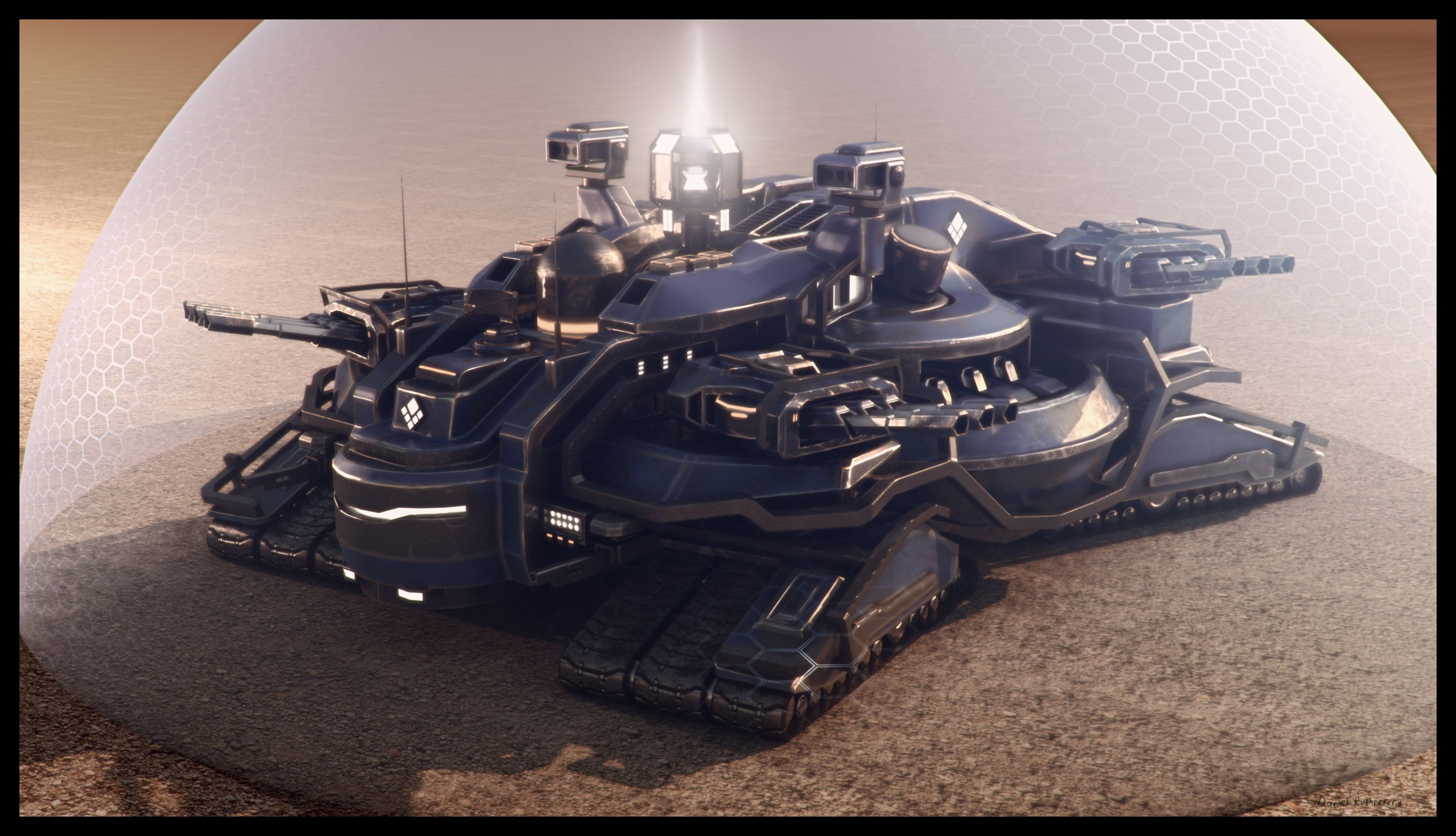Fatboy Mk 4 Image Revamp Expansion Mod Rve Mod For Supreme Commander 2 Futuristic Cars Army Vehicles Tanks Military