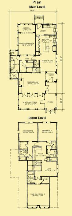 Beach Home Plans Narrow Lot Floor Plans 4 Bedroom House Plans Narrow Lot House Plans Beach House Plans 4 Bedroom House Plans