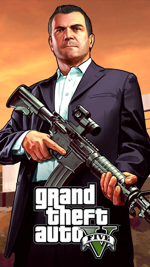60 Marvelous Game Iphone Wallpapers For Gamers Grand Theft Auto Gta Game Gta V