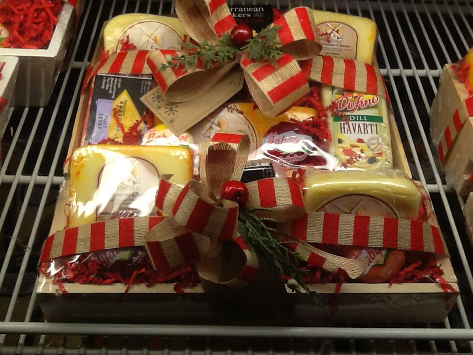 Grab and go cheese baskets gifts cheese baskets gift