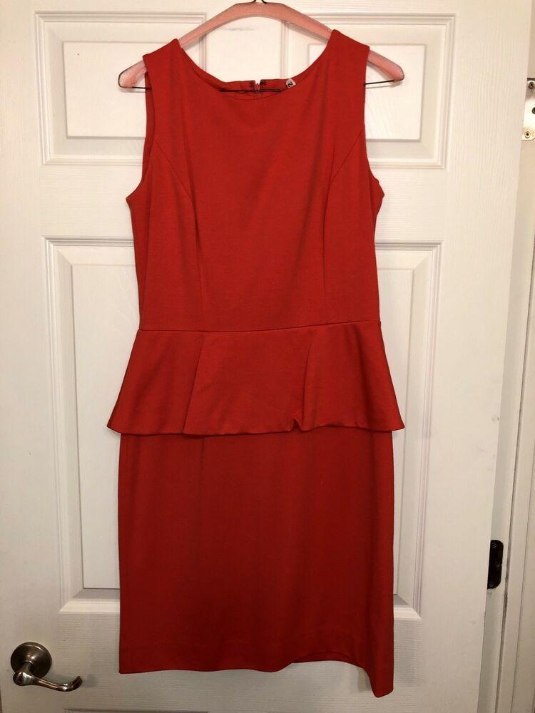 c4a5cb8cdd77 Tahari Dress Bright Coral/orange Size 6 #fashion #clothing #shoes  #accessories