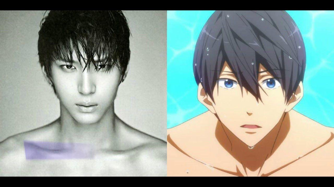 People Who Look Exactly Like Cartoon Original Characters Anime K Pop Star Anime Characters Anime