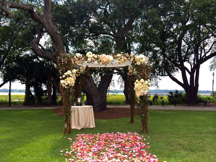 Pin on Magnolia Plantation Southern Glam White Wedding