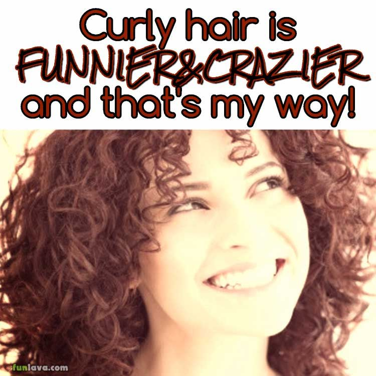 Curly Hair Is Funny Curly Hair Styles Curly Girl Hairstyles Beauty Quotes Hair