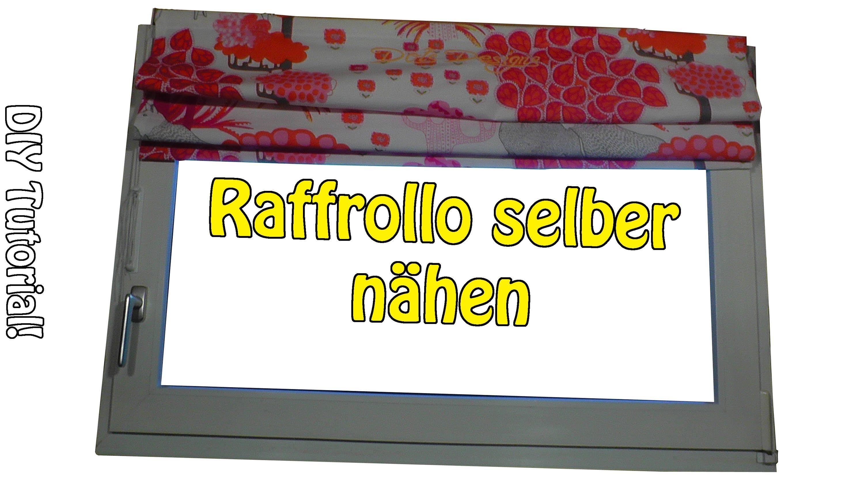 Faltrollo / Raffrollo Selber Nähen