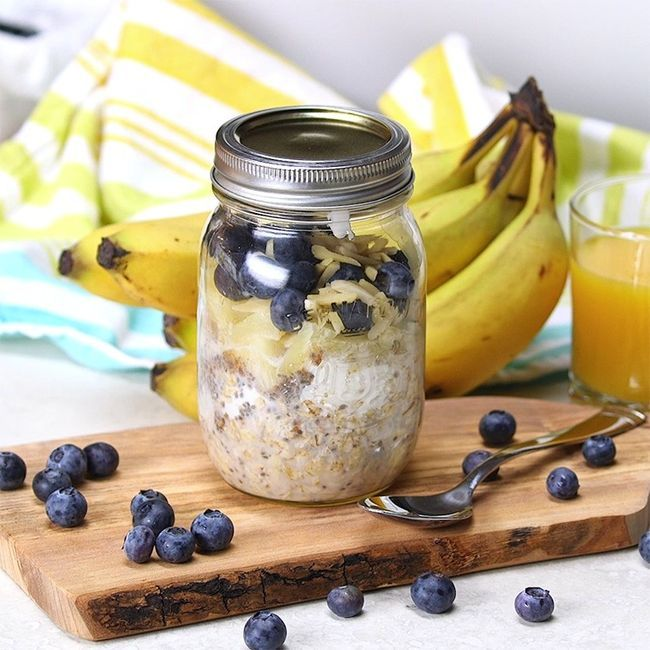 Flat Belly Overnight Oats Will Keep You Trim and Feeling Great -   25 flat belly oatmeal