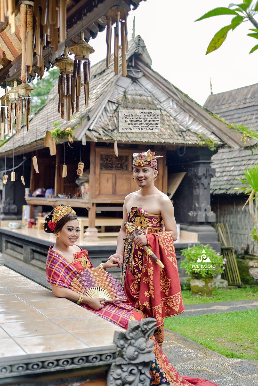 Pakaian Adat Rumah Adat Bali
