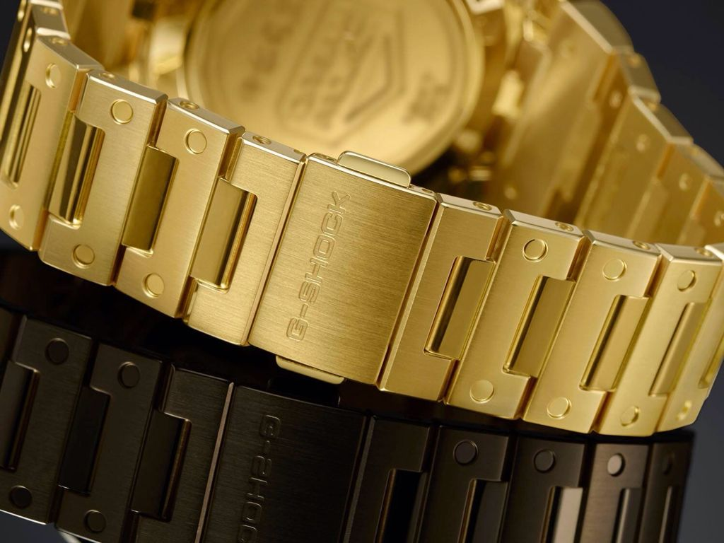"""ee0c773fdc17 The Solid 18 Karat Gold G-Shock. The first G-Shock """"concept"""" watch ..."""
