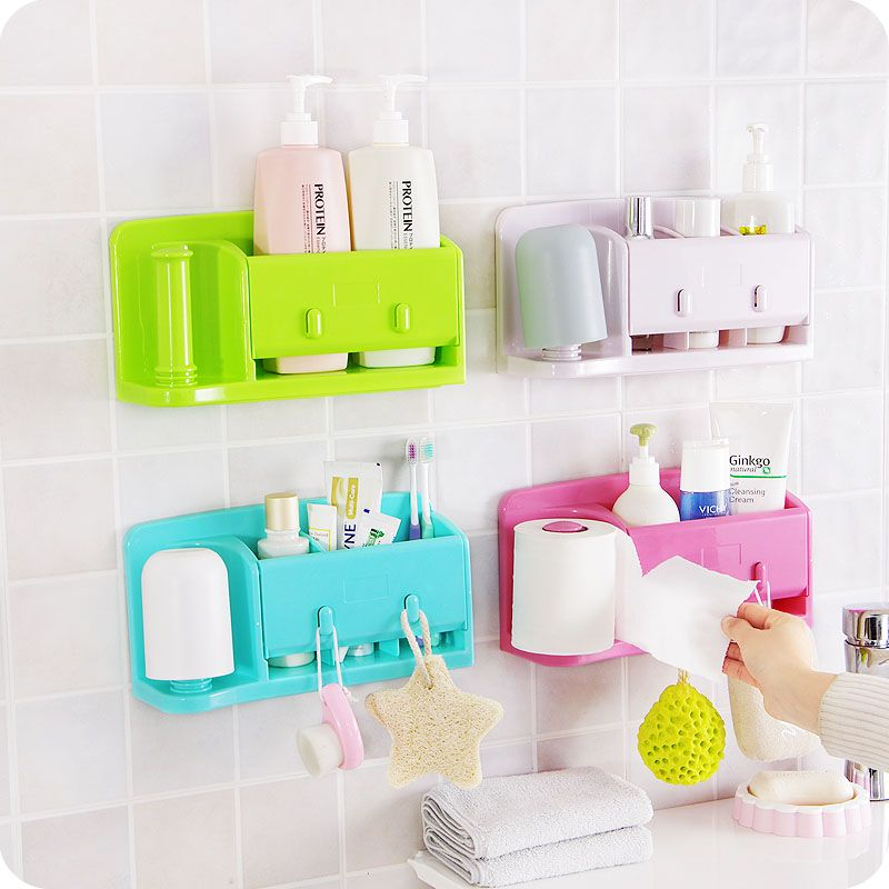Storage Box Quality Cosmetic Directly From China Organizer Plastic Suppliers Practical Kitchen Utensils Wall Shelf