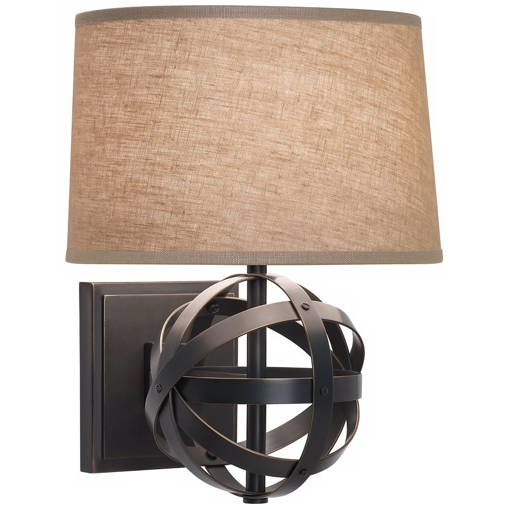 Bright Ceiling Light For Bedroom Bronze wall sconce