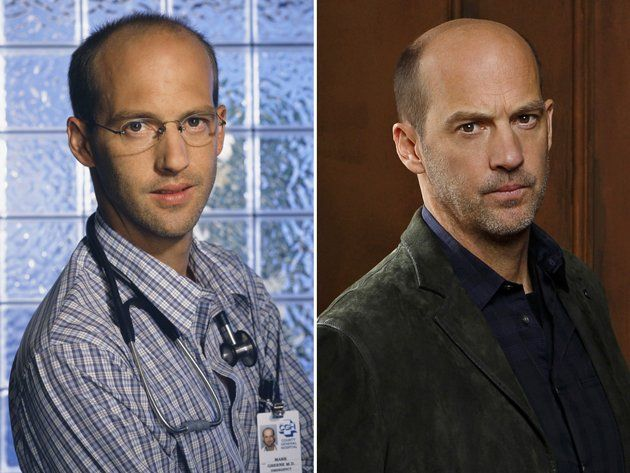 Anthony Edwards (Dr. Greene from ER) has a home in Newtown, CT. Nice guy.