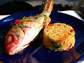 Oven-Baked Red Snapper