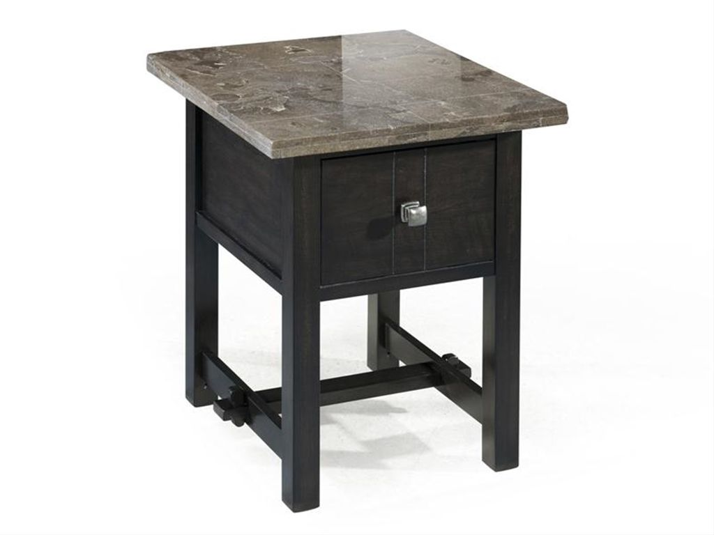 Magnussen Home Living Room Rectangular End Table   Harveyu0027s Furniture    Quincy, IL