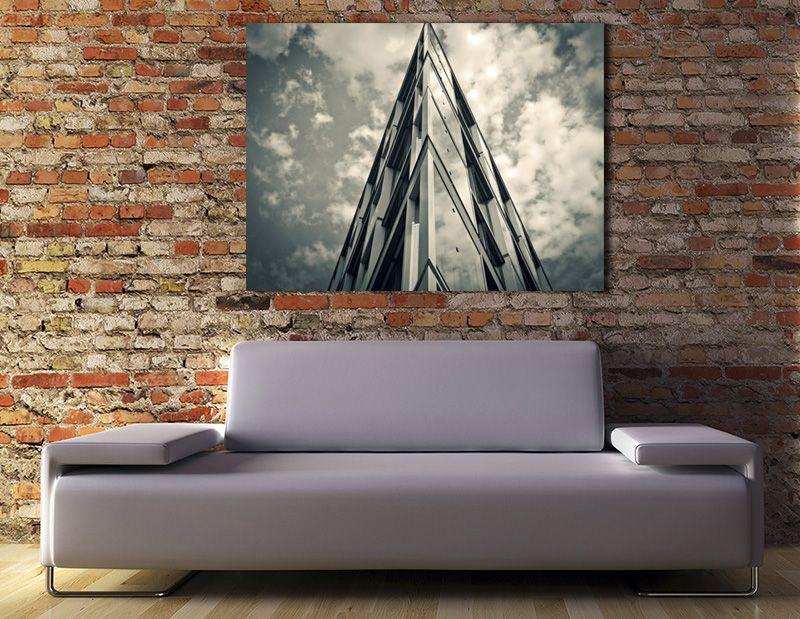Tangerine Wall   Decoración con cuadros fotográficos de gran formato ...