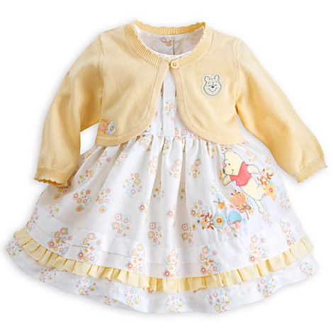 39b4b3290 Winnie the Pooh Dress and Sweater Set for Baby