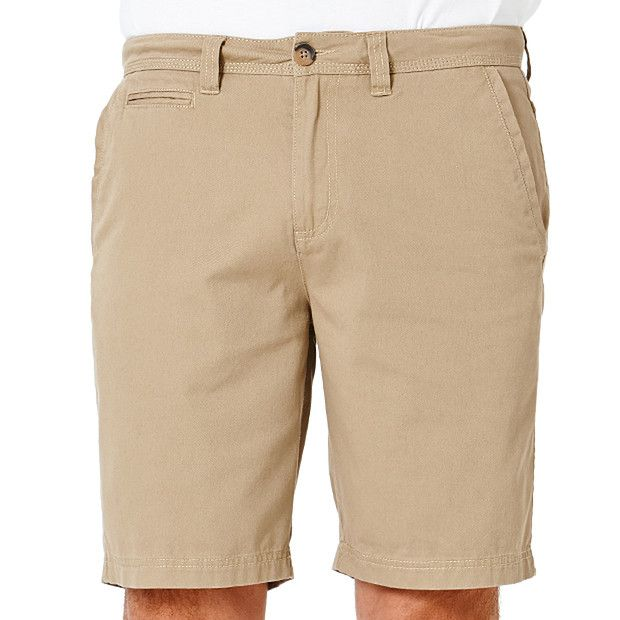 Men's Classic Fit Chino Short - Wood