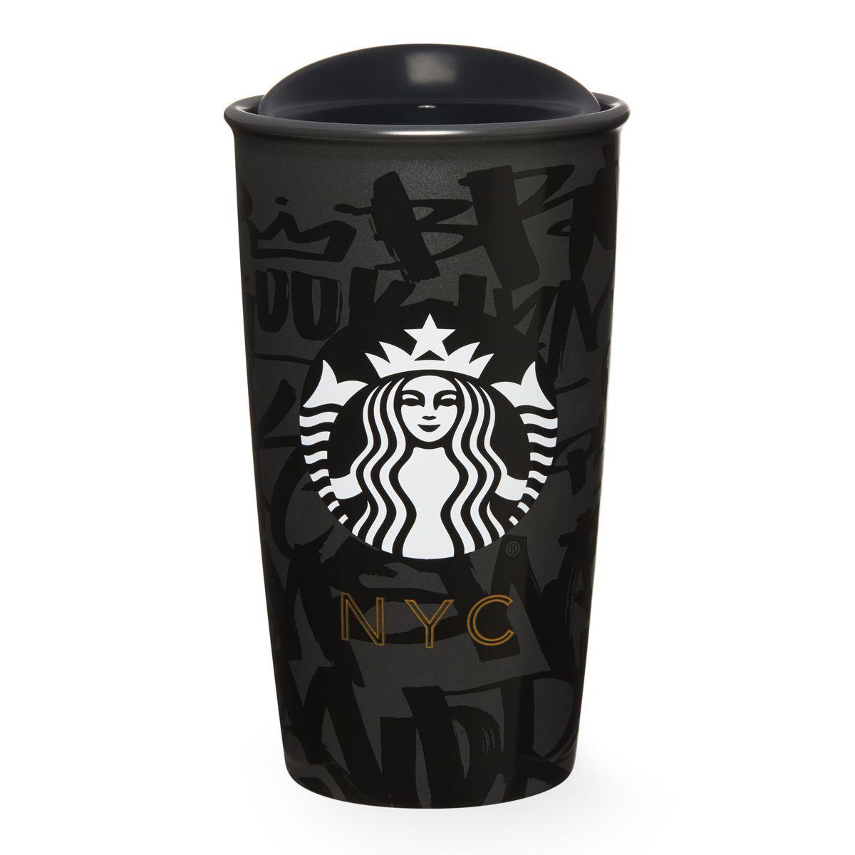 Double Wall Traveler New York City 12 Fl Oz Starbucks Mugs Starbucks Cups Starbucks