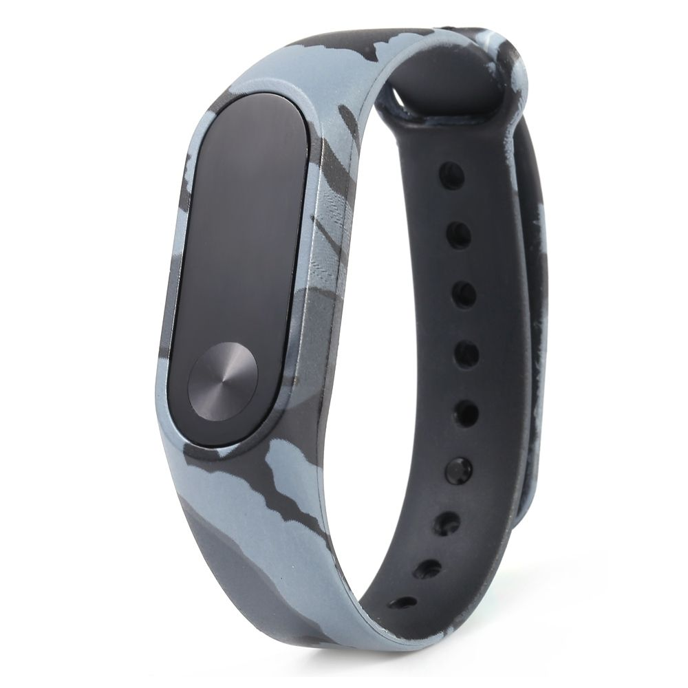 Fashion Camouflage Pattern Watch Strap For Xiaomi Mi Band 2 Camouflage Pattern Watch Bands Replacement Straps