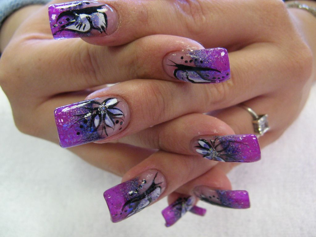 5-compelling-purple-nail-design-for-wedding-purple- - 5-compelling-purple-nail-design-for-wedding-purple-nail-designs