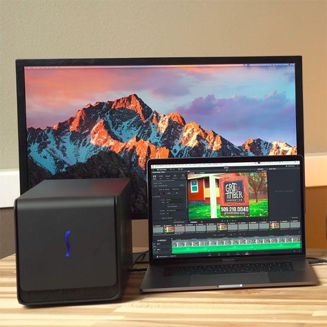 Macbook Pro Egpu Setup Vs 5k Imac For Video Editing In Fcpx Premiere Pro And Davinci Resolve Imac Macbook Pro Video Editing