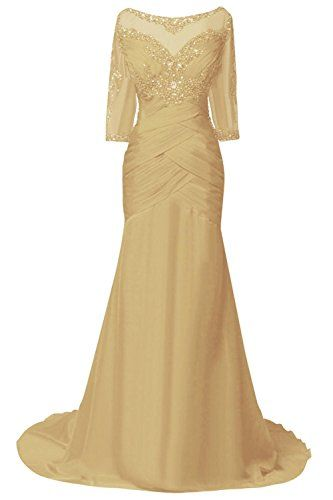 ORIENT BRIDE Women Mother Evening Dresses with Half Sleeves Size 20W US Gold - http://bigboutique.tk/product/orient-bride-women-mother-evening-dresses-with-half-sleeves-size-20w-us-gold/