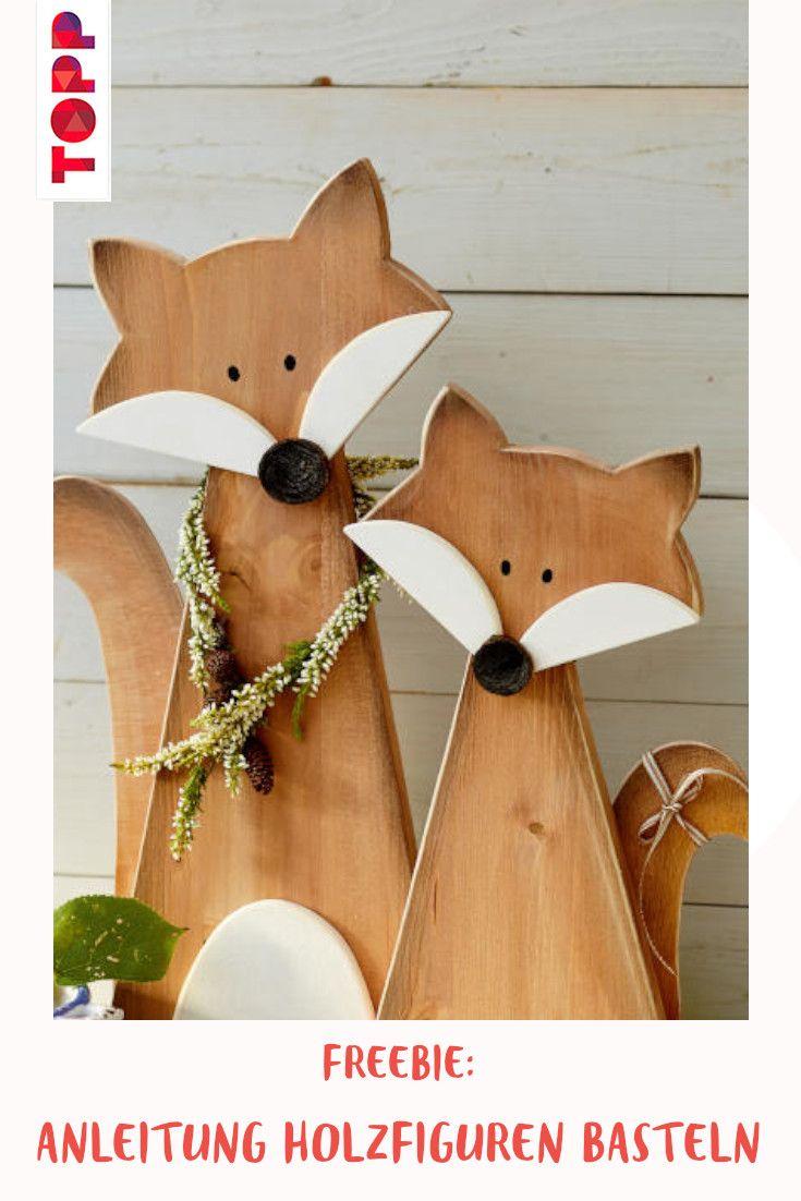 Gratis Anleitung Vorlage Holzfiguren Basteln In 2020 Holz Basteln Weihnachten Geschenke Basteln Mit Holz Diy Weihnachten Holz