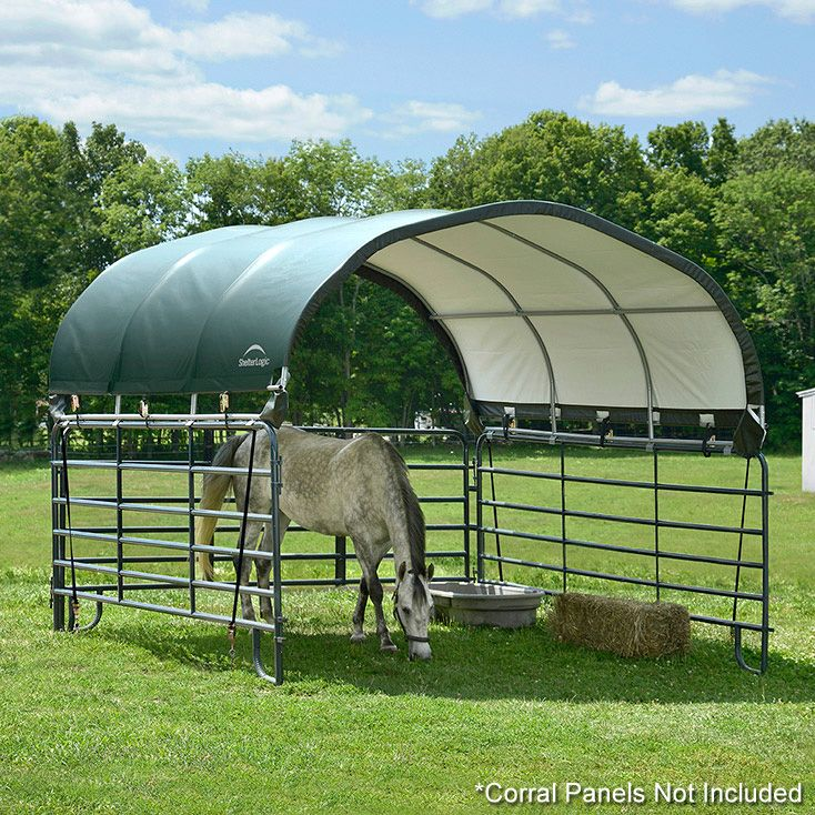Corral Shelter Shade Structures