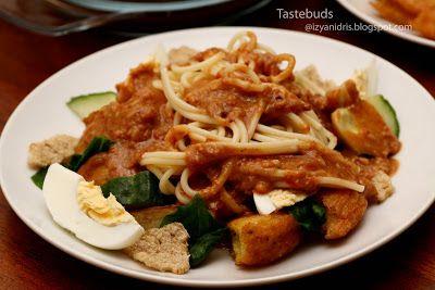 Taste Buds Mee Rojak Malaysian Cuisine Asian Cooking Malay Food