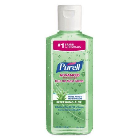 Personal Care Hand Sanitizer Aloe Bottle