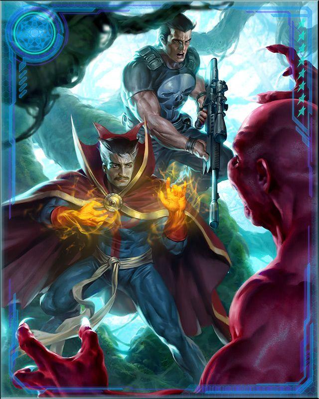 RPGOTG - [Magic Bullets] Doctor Strange & Punisher+