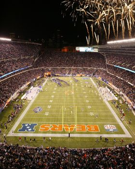 newest 4e74b 75a05 2003 Opening Night at Soldier FIeld Picture at Chicago Bears ...