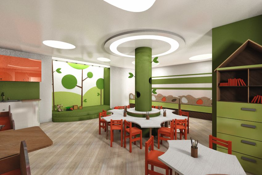 awesome child care center   Artwork Gallery - Interiors ...