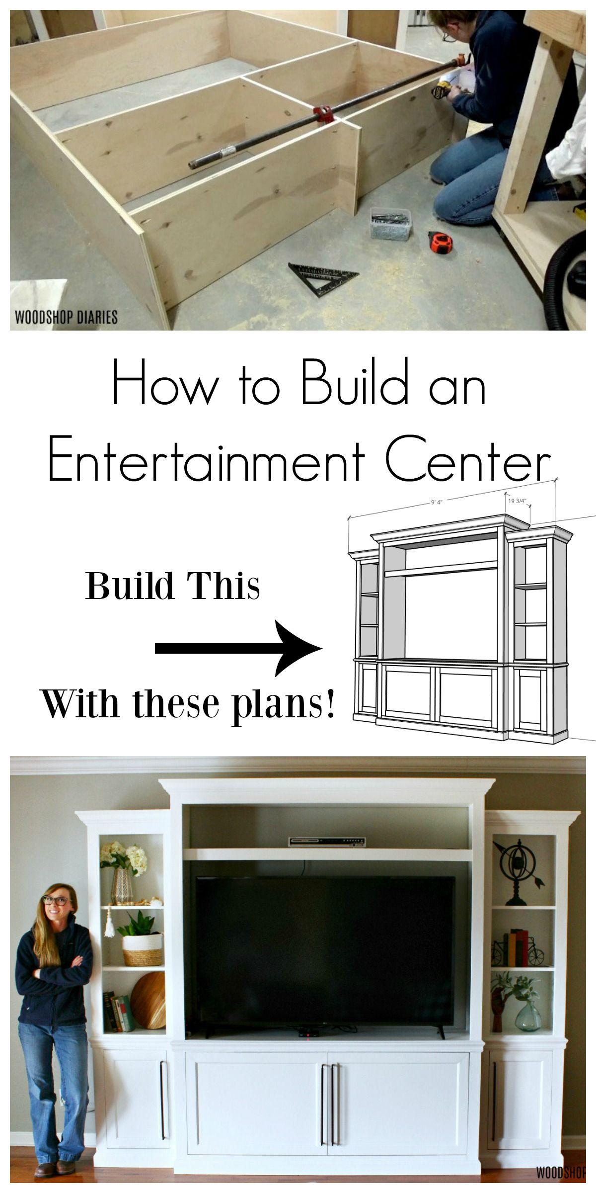 How to Build a DIY Entertainment Center