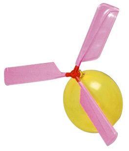ballon helikopter luftballon antrieb kindergeburtstag flugobjekt spielzeug f r drau en es. Black Bedroom Furniture Sets. Home Design Ideas
