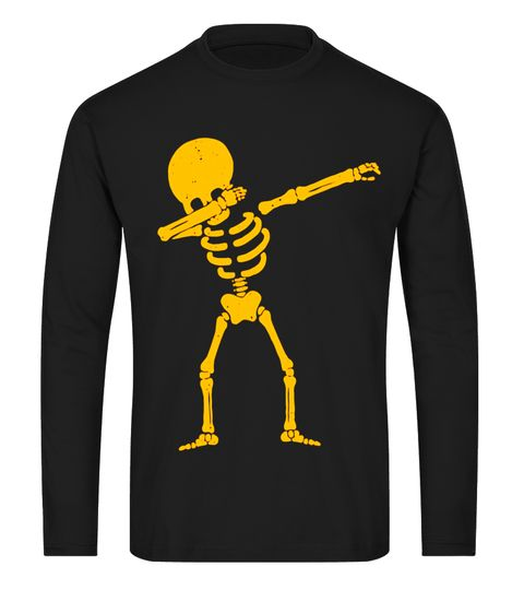 Skeleton Dabbing - Funny Halloween Holiday T Shirt halloween - halloween decorations skeletons