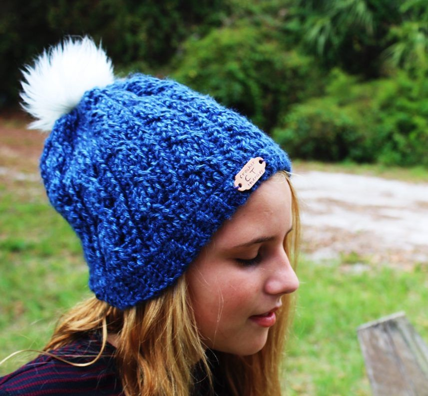 free crochet cable hat pattern | Free Patterns | Pinterest